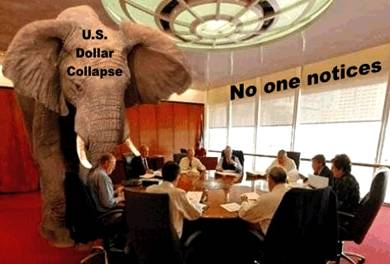 Elephant in the room - U.S. Dollar Collapse